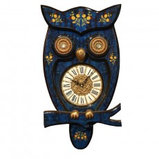 DY-부엉이시계-블루